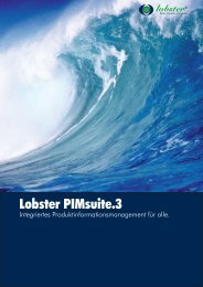 Lobster PIMsuite.3 - Lobster GmbH