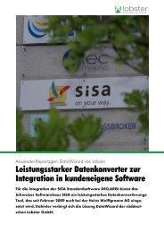 Leistungsstarker Datenkonverter zur Integration in ... - Lobster GmbH