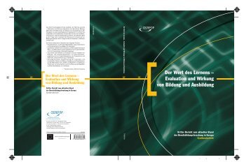 Der Wert des Lernens – Evaluation und Wirkung von Bildung und ...