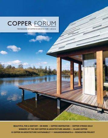copper strikes gold - Copper Concept