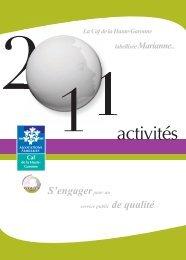 le rapport d'activité 2011 - Caf.fr