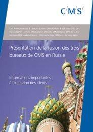 Documentation version française - CMS Bureau Francis Lefebvre