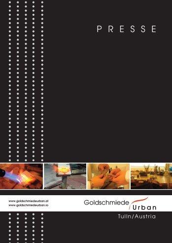 """Download Pressemappe """"Goldschmiede Urban"""""""