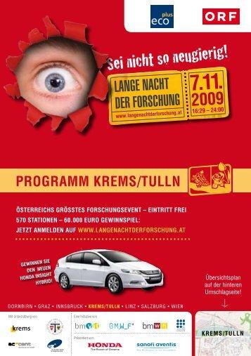 Niederösterreich - Lange Nacht der Forschung 2012