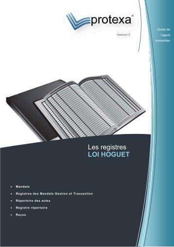 Les registres LOI HOGUET