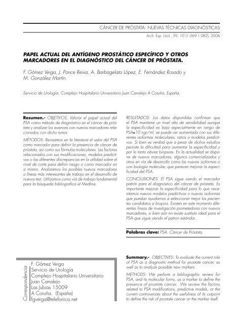 s antígeno prostático específico de psat