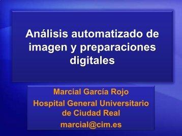 Análisis automatizado de imagen y preparaciones digitales