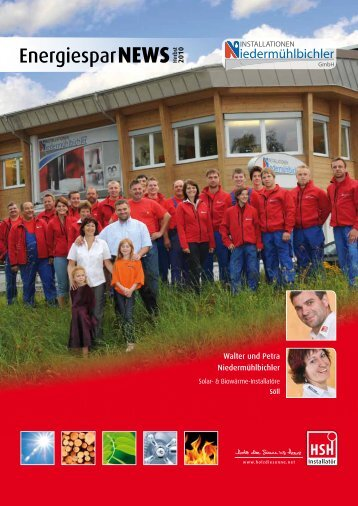 EnergiesparNEWS Herbst 2010 - Holz die Sonne ins Haus