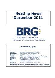Heating ws Ne - BRG Building Solutions