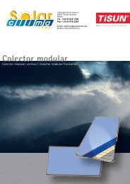 Colector modular - Solar Clima 1982