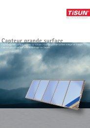 Capteur grande surface - Escale Bio