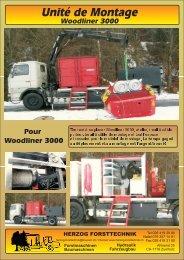unité de montage Woodliner - Herzog Forsttechnik