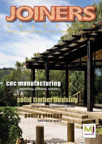 Joinery, Cabinetmaking & Kitchen Manufacturing Industries