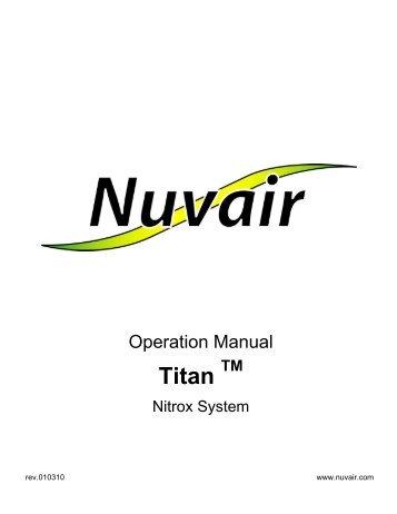 Titan Nitrox - Nuvair