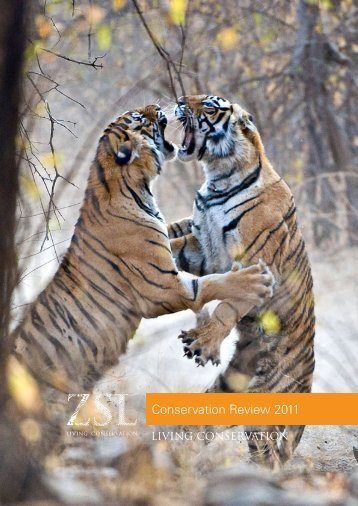Conservation Review 2011 - Web - Zoological Society of London