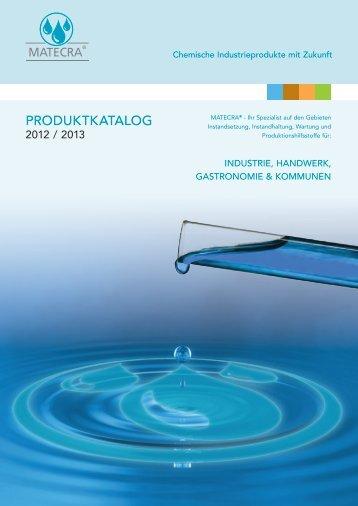 Produktkatalog - Matecra GmbH