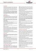 Zegarki analogowe Instrukcja obsługi - Tissot - Page 2