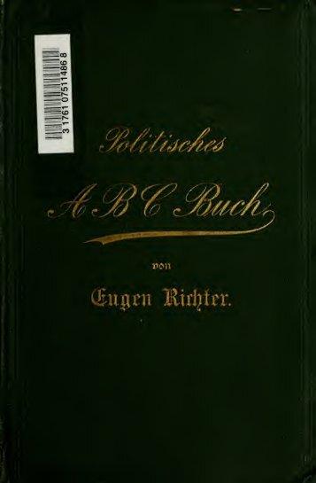 Politisches ABC-Buch; ein Lexikon parlamentarischer Zeit- und ...