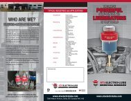 Quad-fold Products Brochure - A.T.S. Electro-Lube International Inc.