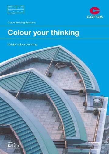 Colour your thinking - Kalzip