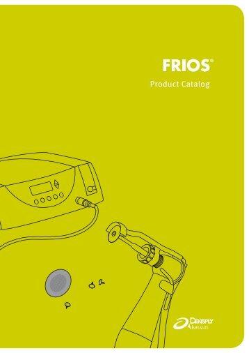 FRIOS Product Catalog - DENTSPLY Friadent