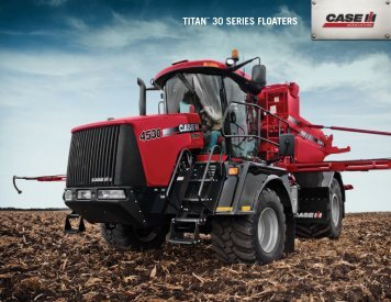 Titan 30 Series Floaters Brochure - Case IH