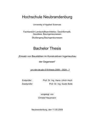 Alisa brandenburg thesis
