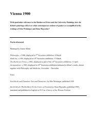 Vienna 1900 – Klimt and gender politics