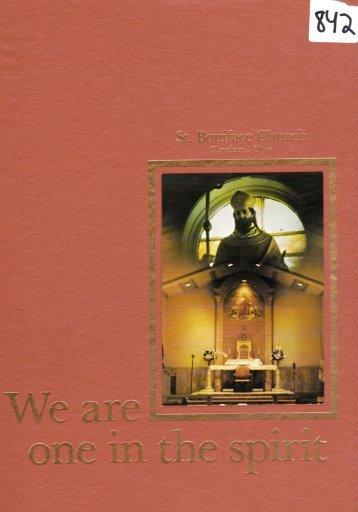 "Page 1 Wi,f ""'* $ f,#q I .r,'','. , ::';.t Page 2 t. Boniface Church Cleveland ..."
