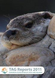 EAZA TAG Reports 2011 - European Association of Zoos and Aquaria