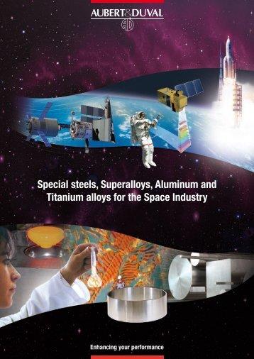 Special steels, Superalloys, Aluminum and ... - Aubert & Duval