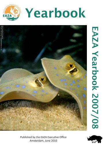 EAZA Yearbook 2007/2008 - European Association of Zoos and ...