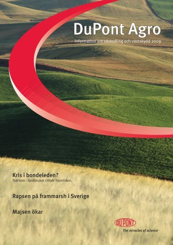 DuPont Agro Magasin 2009