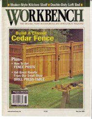 Trre OnIGINAL HONAE WOOOWORKING RruN ... - Wood Tools