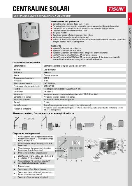 Grundfos ALPHA2/ /Connettore Alpha connessione presa Estandar