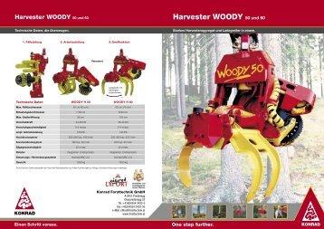 Harvester WOODY 50 und 60 - Herzog Forsttechnik