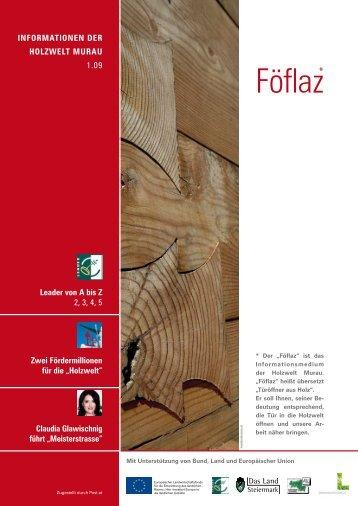 Föflaz - Ausgabe Juli 2009 - Holzwelt Murau