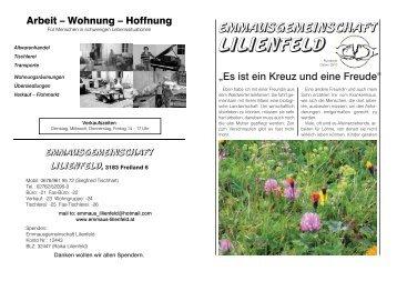 Rundbrief Ostern/2010 - Emmaus Lilienfeld