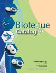 Catalog - Bioteque America, Inc.
