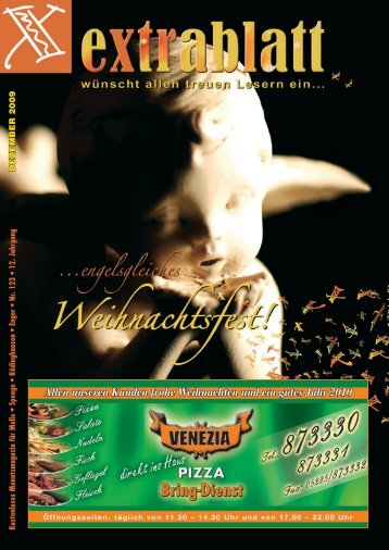 Ausgabe Dezember 2009 - Extrablatt