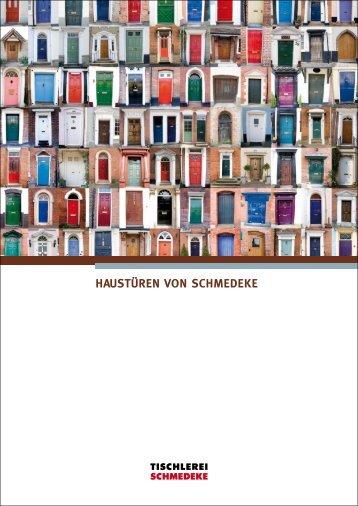 SCHMEDEKE Haustürkatalog - Tischlerei Schmedeke Hameln