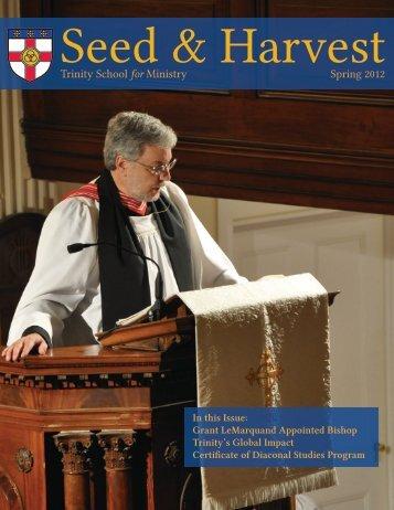 S&H Spring 2012.pdf - Trinity School for Ministry