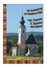 Bericht - Orgelbau Walcker-Mayer