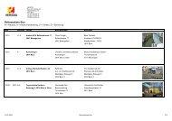 HERZOG - Referenzliste Bau - HERZOG Bau und Holzbau AG