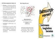 Als Betreuungsverein bieten wir Hier finden Sie ... - Landkreis Lörrach