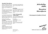 Asbest - Landkreis Lörrach