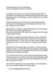 Rede zur Einbürgerungsfeier - Landkreis Lörrach