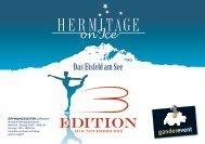 Flyer Hermitage on Ice - Seehotel Hermitage Luzern