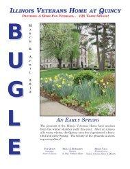 2012 Mar/April bugle - Illinois Veterans Home