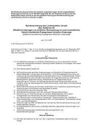 Rechtsverordnung des Landratsamtes Lörrach ... - Landkreis Lörrach